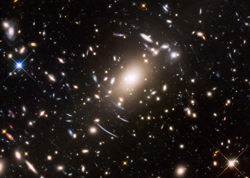 Скопление галактик Abell S1063