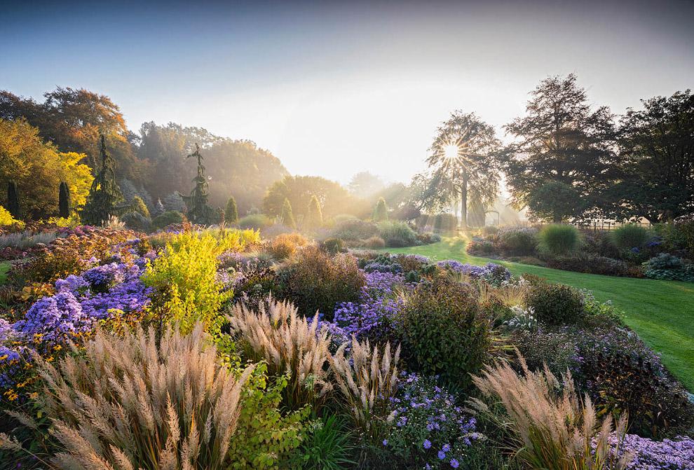 Осенние сады Брессингема, Ричард Блум, Норфолк, Англия