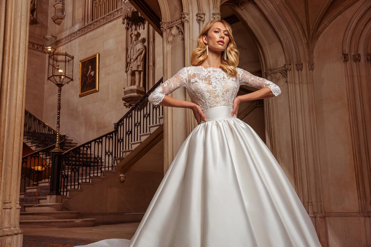 Wonderful Wedding Dresses With Sleeves