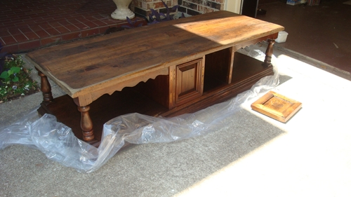 coffee table to bench willing is not