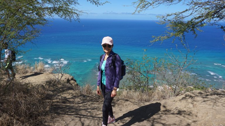 Hiking Diamond Head Crater, Oahu