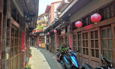 澎湖(ポンフー)の中央街は台湾で一番歴史のある「老街」!