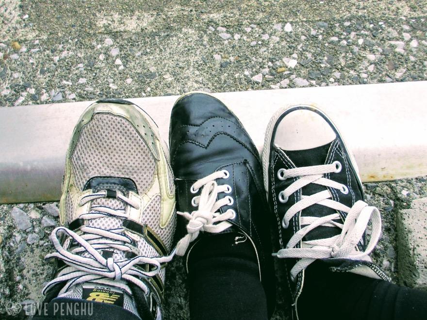 澎湖(ポンフー)観光では履き慣れたスニーカーがベター