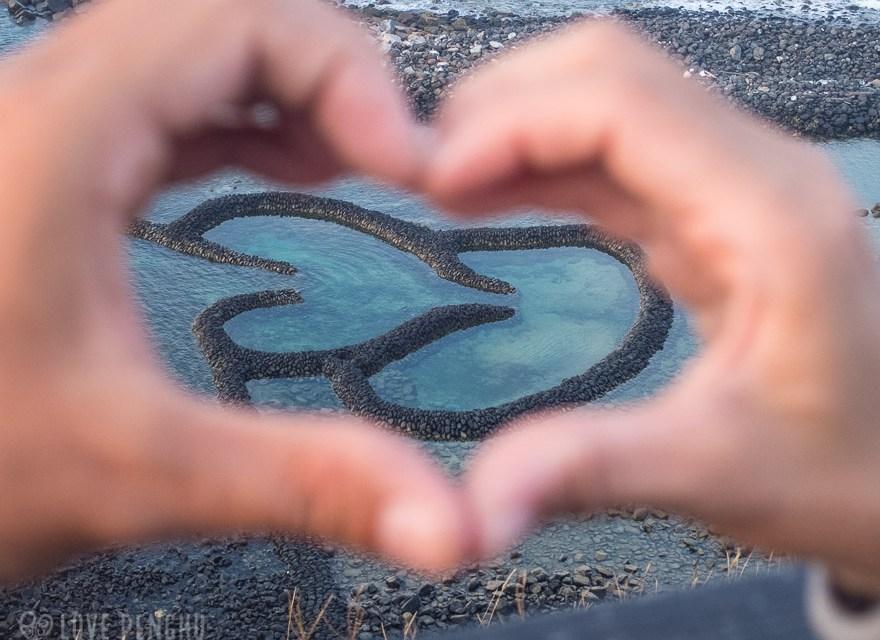 一度は見たい! 七美のダブルハート石滬は澎湖(ポンフー)を代表する絶景!