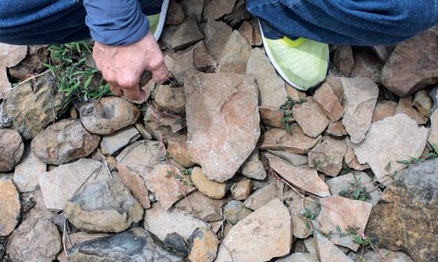 驚愕! 七美に石器工場が存在した!