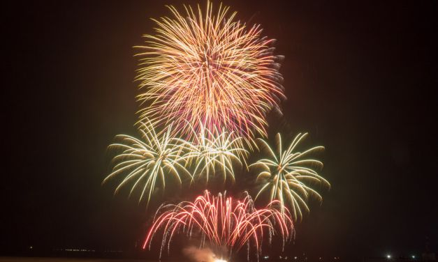 2018年の澎湖(ポンフー)海上花火節について