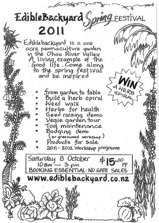 Edible Backyard Spring Festival – 8 October