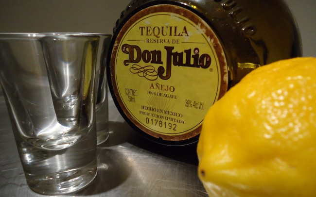 Uses for lemons 001: Tequila