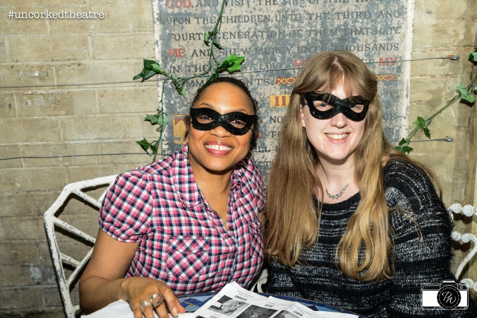 Paradise By Way of Kensal Green Uncorked Theatre Sleuth me and Denise