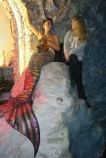 Beyond the Waterfall merman and me