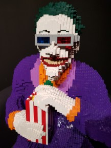 DC Legends Joker and popcorn