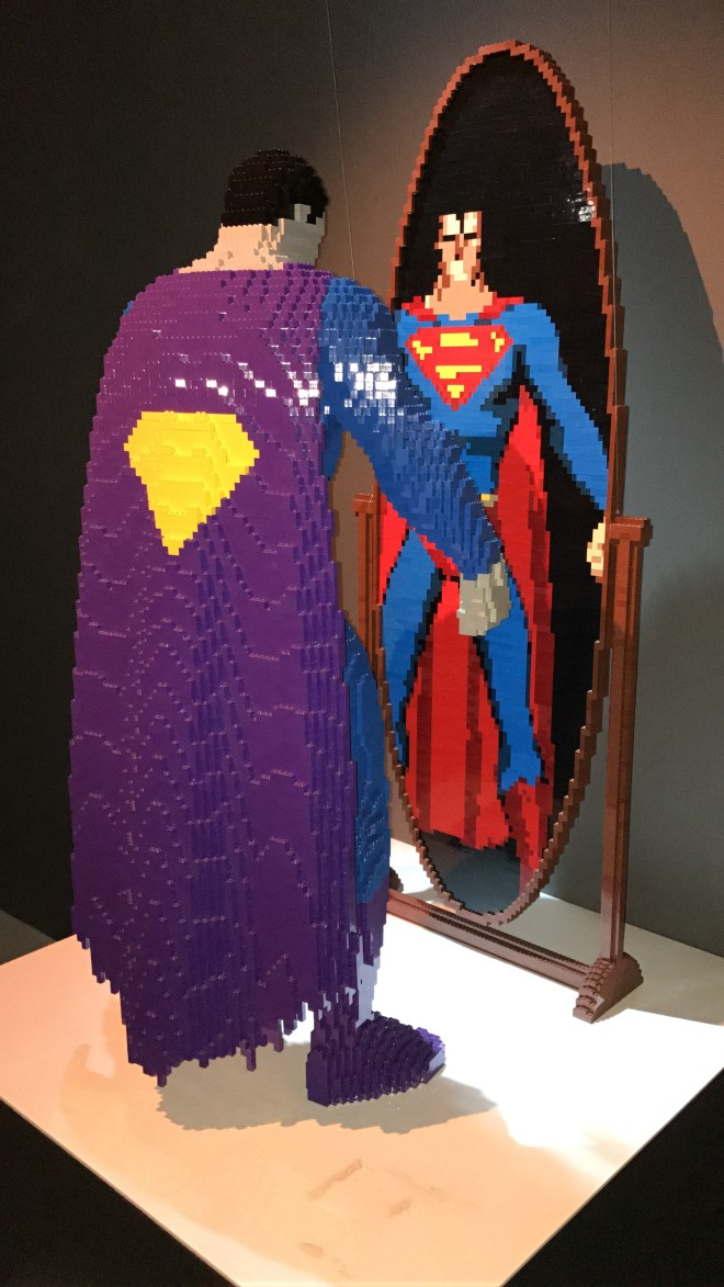 DC Legends Superman mirror