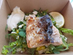 Jimmy Garcia The BBQ Club takeaway salmon
