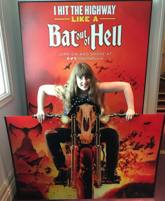 Bat Out of Hell poster with me