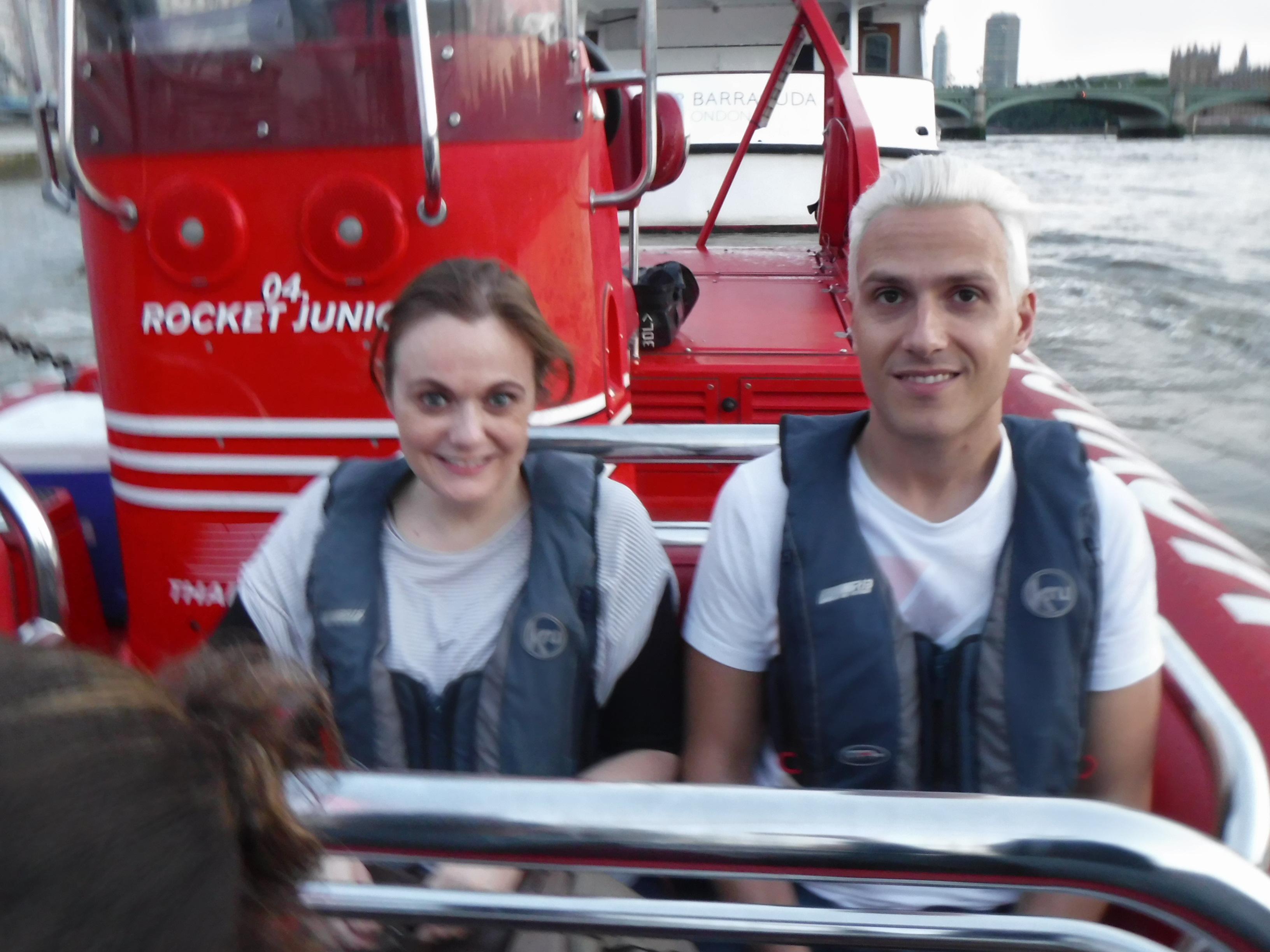 Thames Rocket Henri and Steve