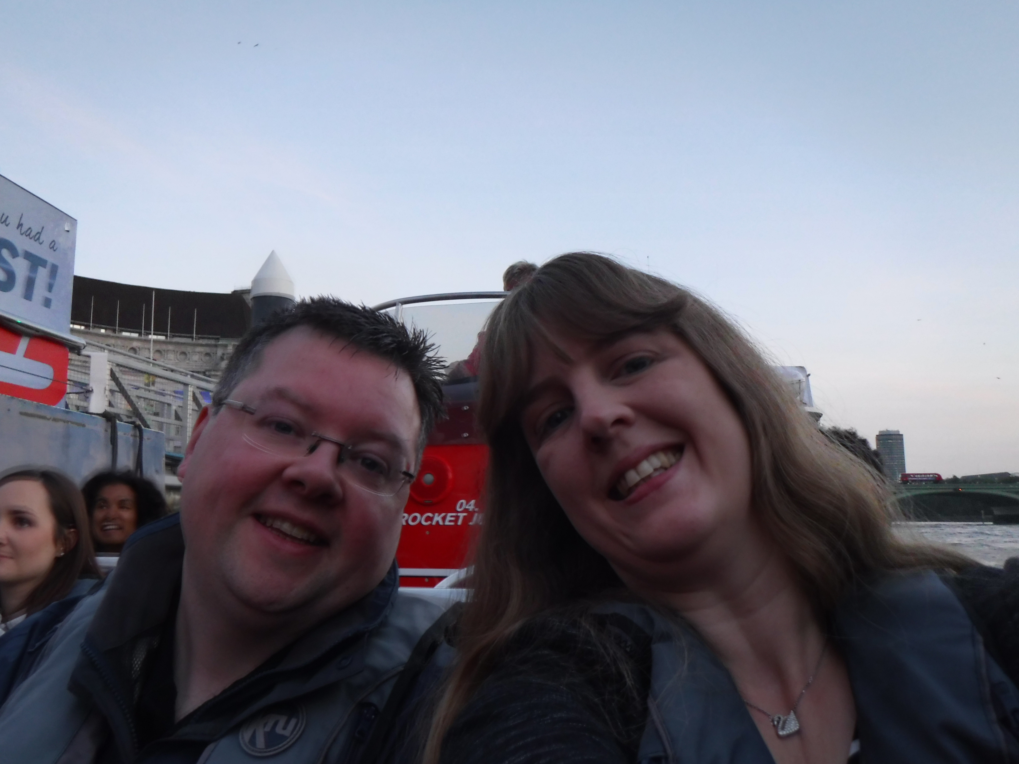 Thames Rocket Jason and me