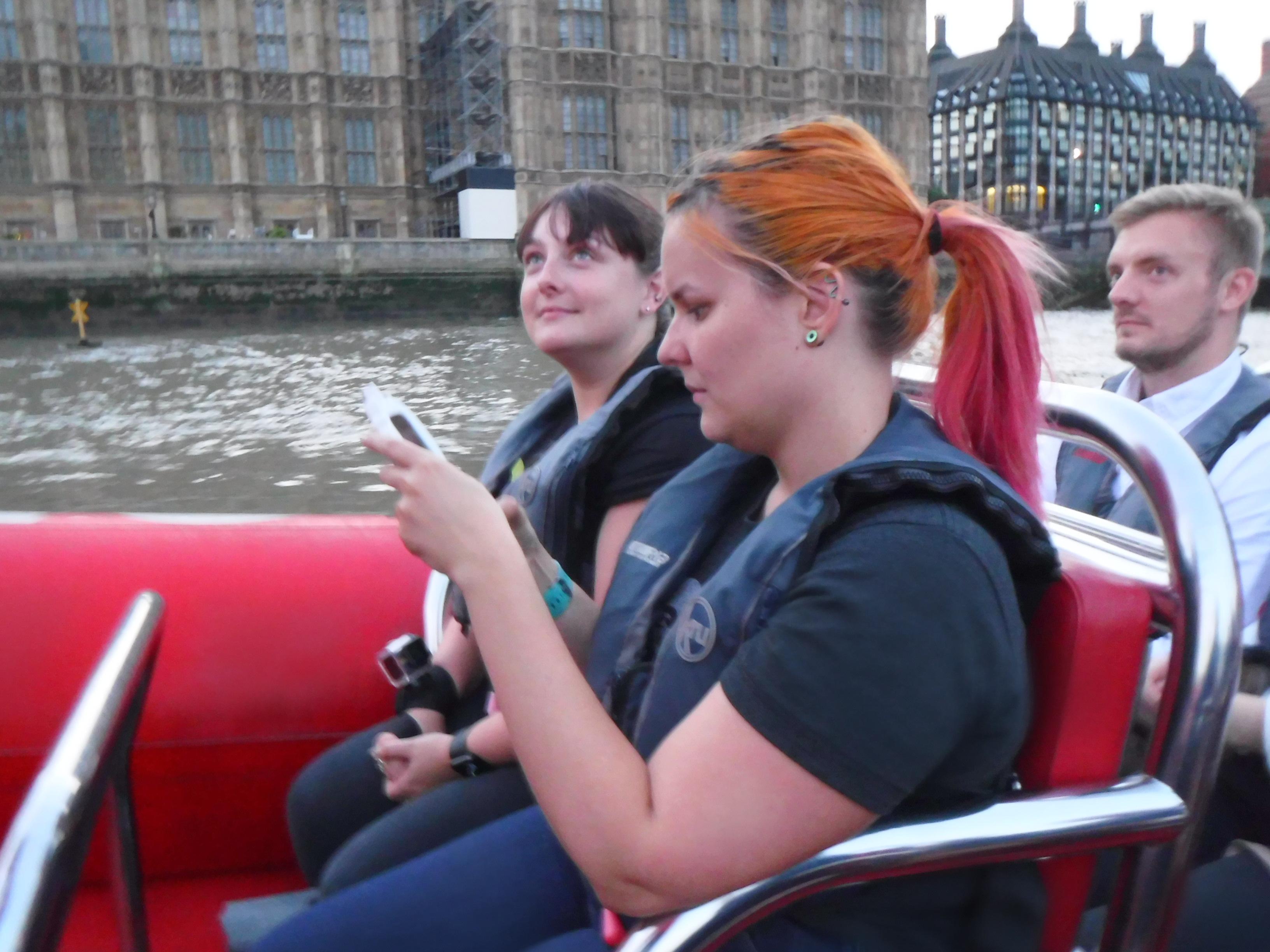 Thames Rocket Karris and Haydy