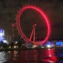 Thames Rocket London Eye close up view