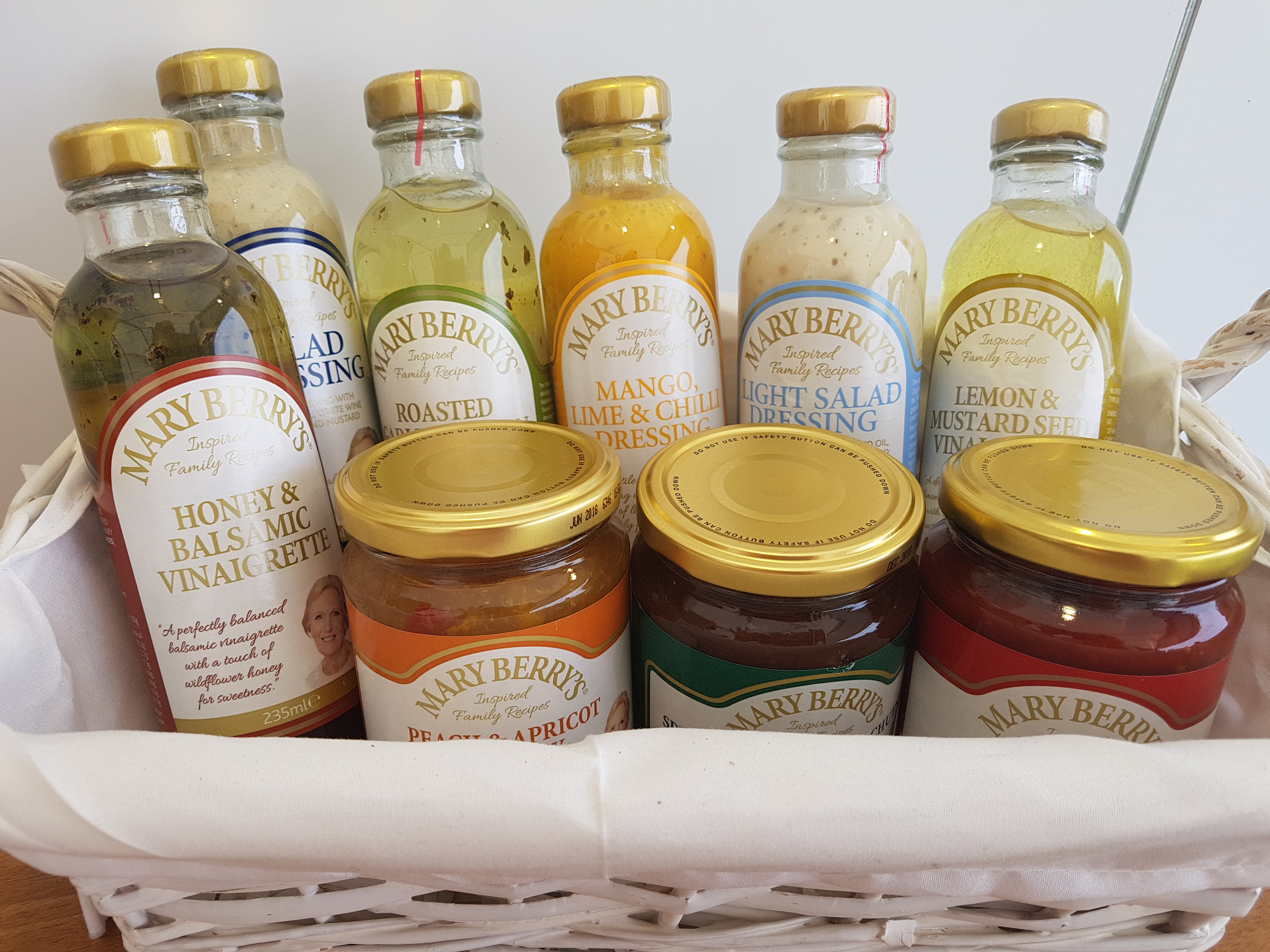 Foodies Festival at Alexandra Palace Mary Berrys sauces