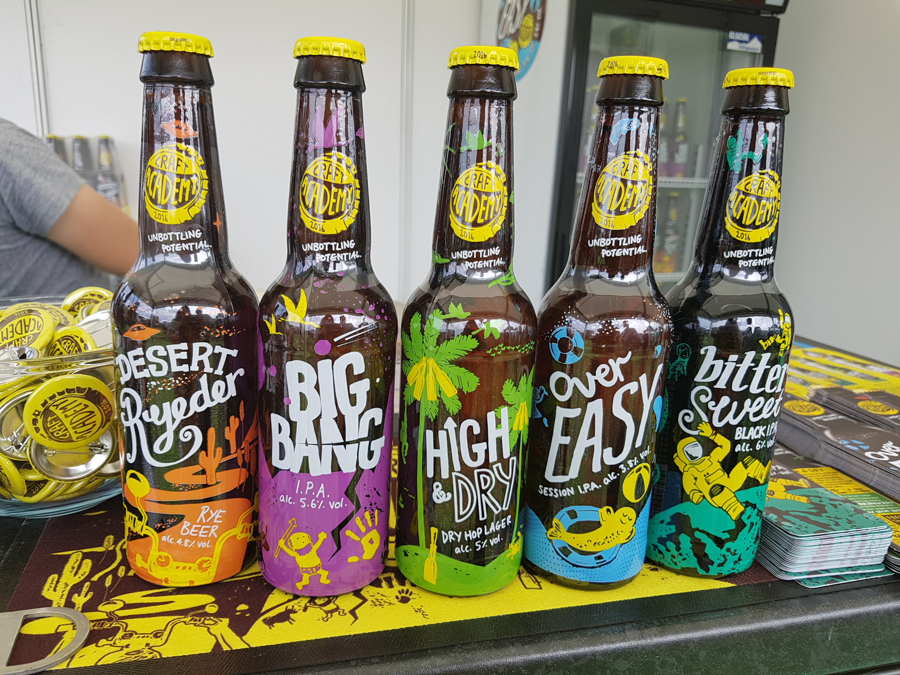 Foodies Festival at Alexandra Palace Academy beer