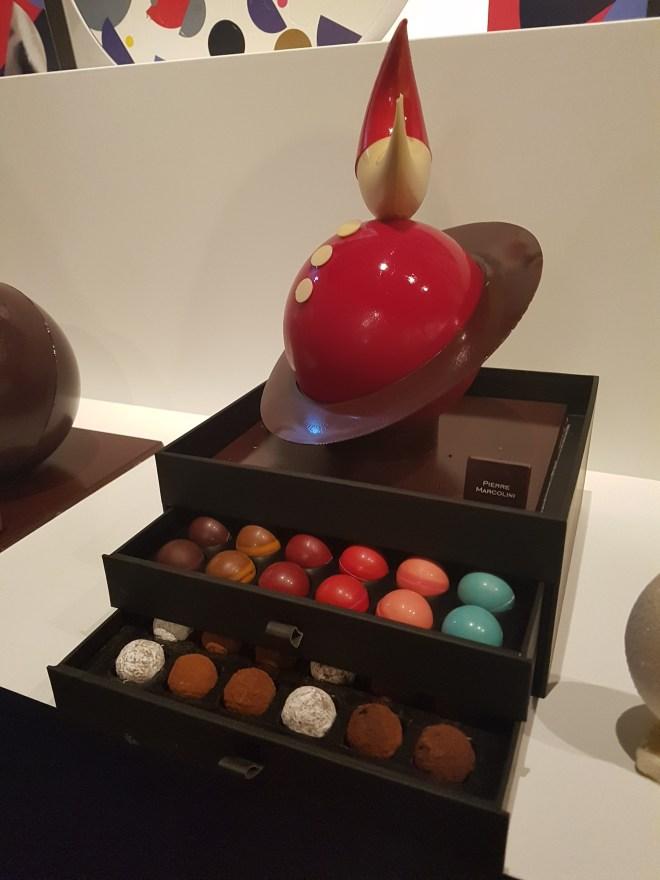 Pierre Marcolini chocolate pop up - Santa