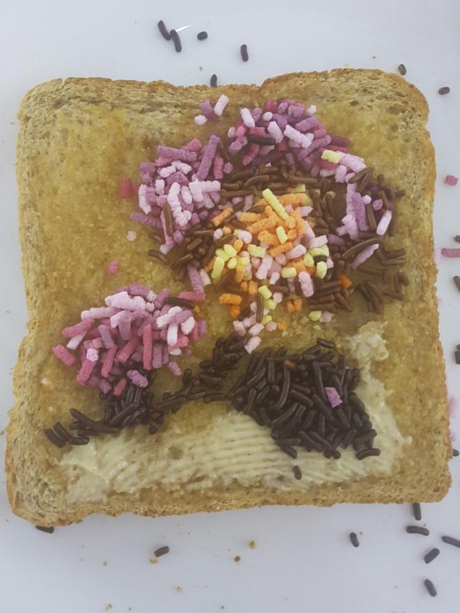 easyJet toast
