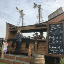 Foodies Festival Rum ship stand