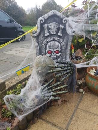 My Halloween grave