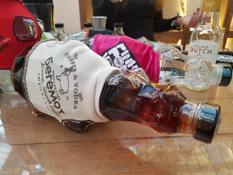 The Spirit Show vodka Beremot hippo
