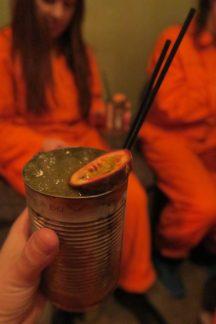 Alcotraz cocktail passionfruit