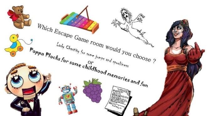 Which escape room would you choose