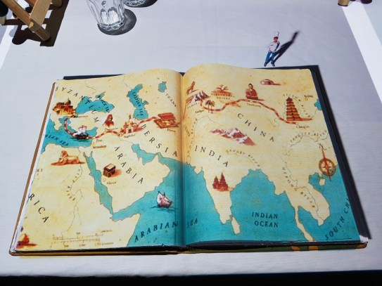 Dinner Time Story map