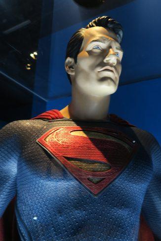 DC Exhibition Superman close up