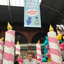 Ben & Jerry's 40th Birthday ball pit me in it