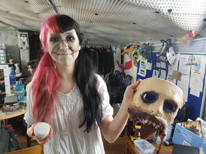 London Tombs - makeup artist Chloe