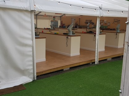 The Big London Bake tent