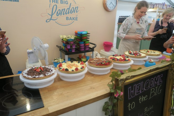 The Big London Bake cakes
