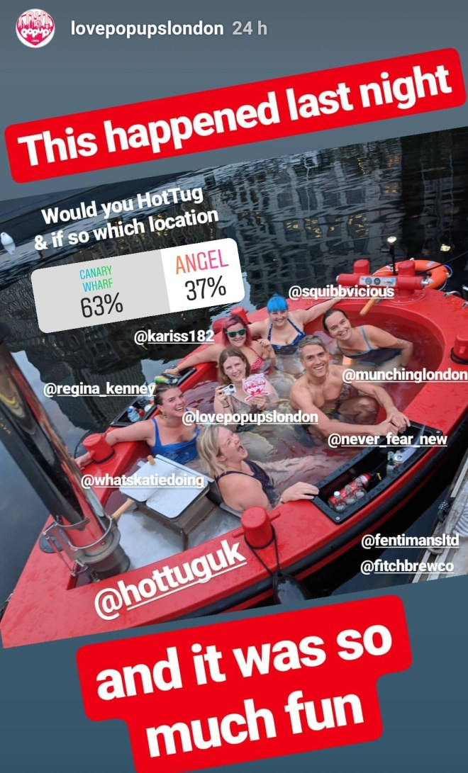 HotTugg instagram