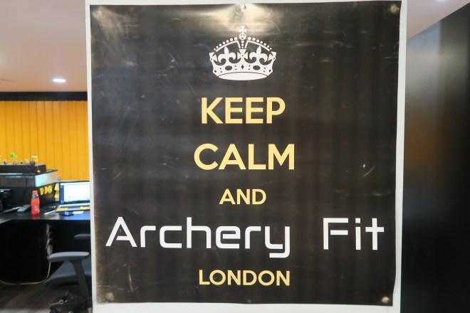 ArcheryFit keep calm