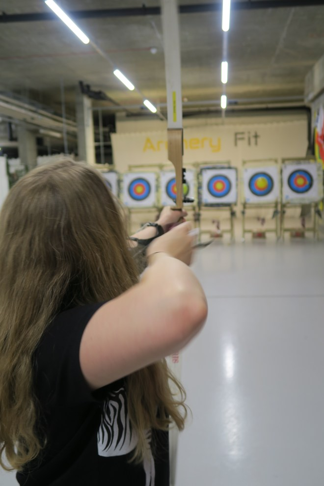 ArcheryFit aim and shoot