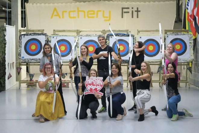 ArcheryFit us of Love Pop Ups London