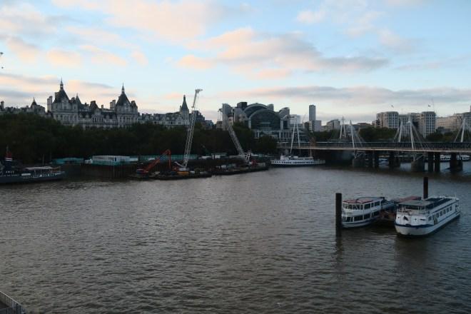 Schweppes London Eye view