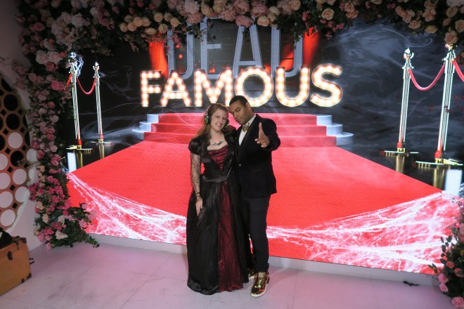 Madame Tussauds me and award winning magician Brendan Rodrigues