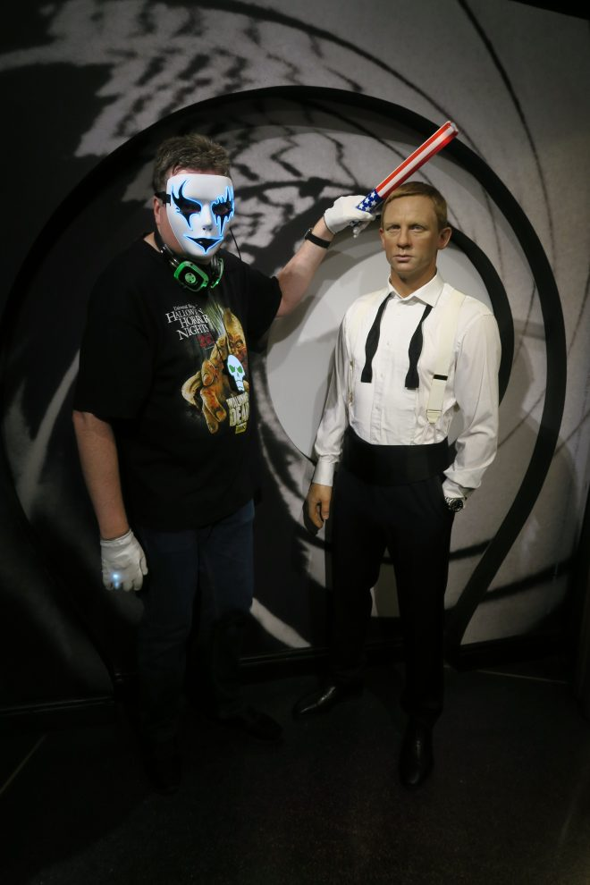 Madame Tussauds James Bond