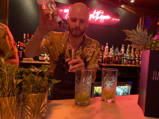 Last Nights of Havana bar men