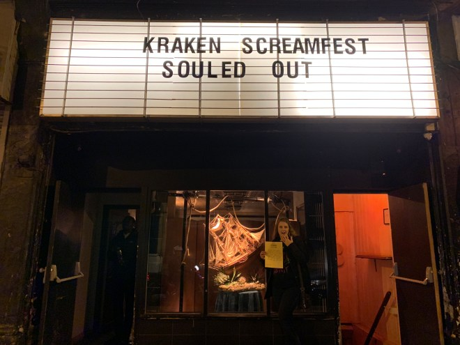 Kraken Screamfest The Ocean of Souls front