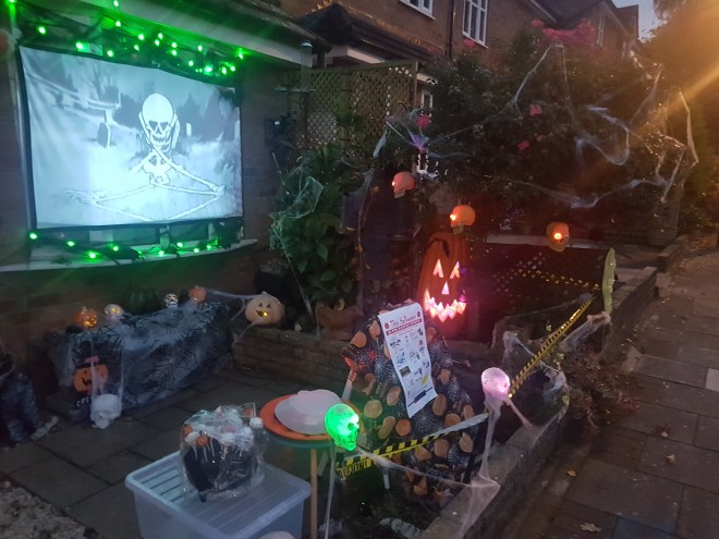 Halloween 2018 projection
