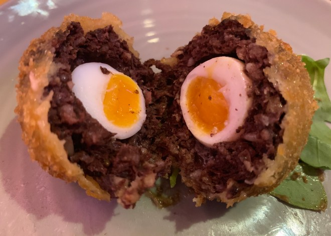 The Jam Shed Supper Club egg