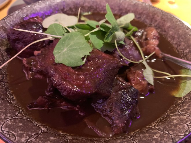 The Jam Shed Supper Club Ox cheek