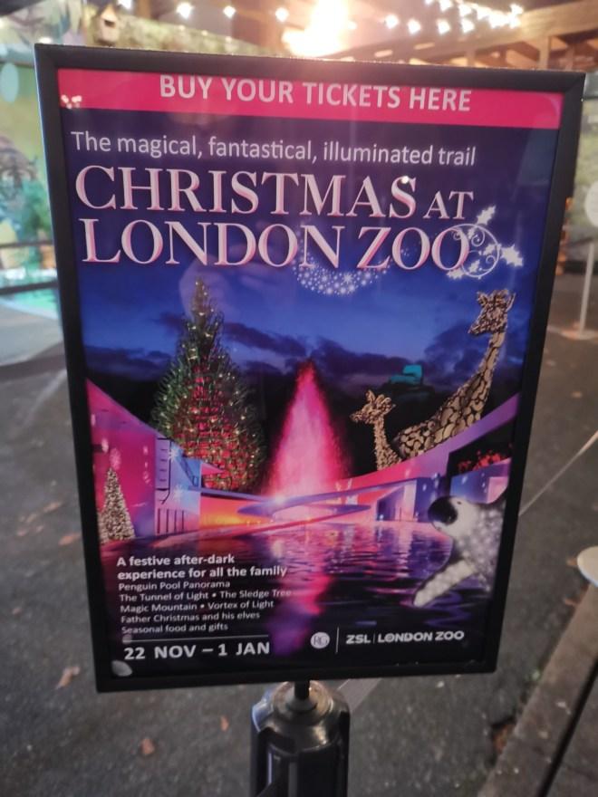 ZSL London Zoo poster